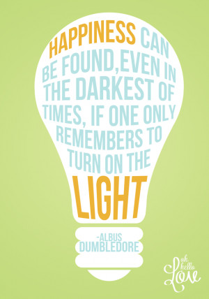 Dumbledore Quotes Light Picture