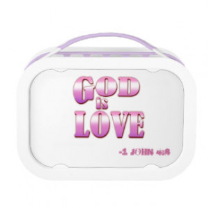 Religious Quotes Lunch Box