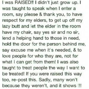 Thank you grandma!