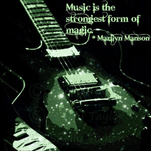Music Wall Art - Guitar Decor - Rock and Roll - Famous Quotes, Marilyn ...