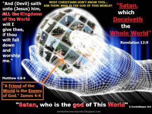 LDS LAST DAYS JESUS CHRIST VS. SATAN FORETOLD