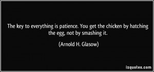 More Arnold H. Glasow Quotes