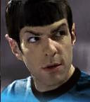 Zachary Quinto as Spock (old news)