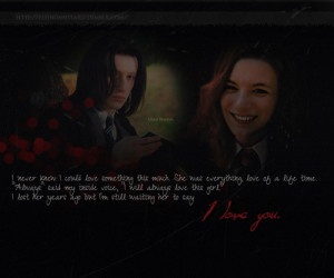 Love of a Slytherin - severus-snape-and-lily-evans Fan Art