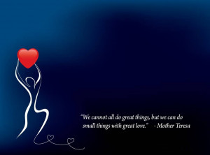 Mother teresa quotes about life wallpaper and these unity quotes give ...