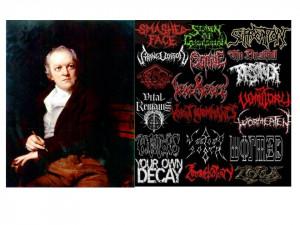 Death Metal Lyric or William Blake Quote?
