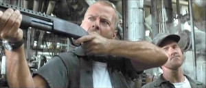 Description: Bruce Willis as Harry Stamper, an overly-protective ...