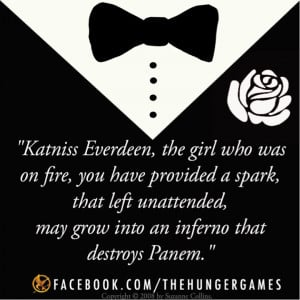 Hunger Games Book 1 Quotes
