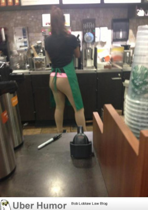 Really thought the barista at Starbucks was making my drink with no ...