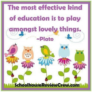 play amongst lovely things . . . #plato #quotes #education # ...