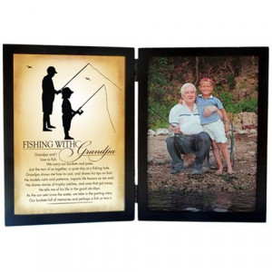 Fishing With Grandpa Picture Frame 5 x 7