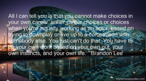 Career Choice Quotes