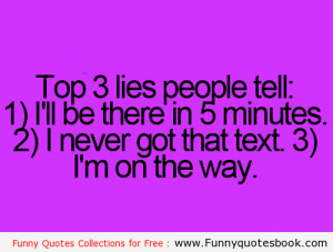 Funny Quotes About Lies