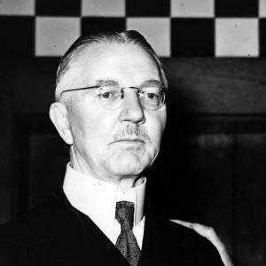 Hjalmar Schacht Found Not Guilty at Nuremberg War Crimes Trials Hot