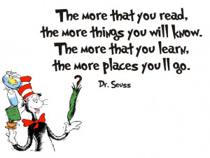 Dr Suess the more than you read Quotes for Children
