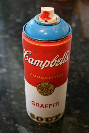 art graffiti hipster Awesome design can Campbell's soup