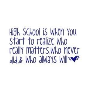 High school love quotes