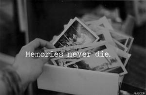 Memories Life Quote