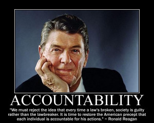 ... American precept that each individual is accountable for his actions