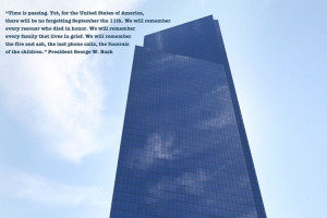 George W. Bush quote after 9/11.