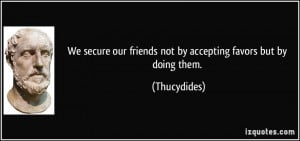 More Thucydides Quotes