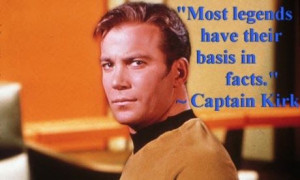 Star Trek - Captain Kirk quote