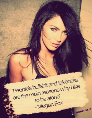 megan fox quotes on love