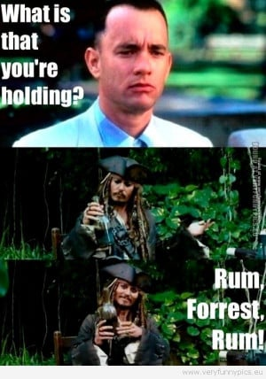 Forrest gump has no idea what's comming