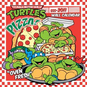 2011 TMNT Retro Calendar: Teenage Mutant Ninja Turtles Books