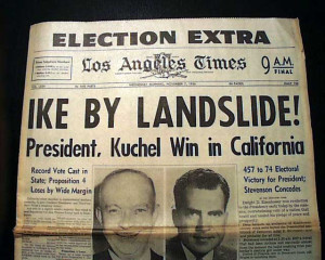 Details about General DWIGHT D. EISENHOWER Ike Presidential Election ...