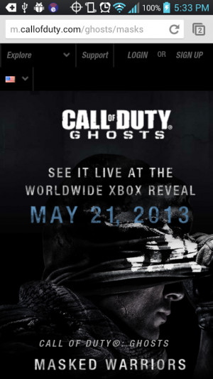 Intel Call of Duty Ghosts