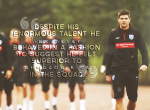 Steven Gerrard quote series ¬