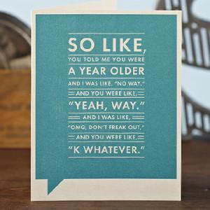 Funny Birthday Cards For Teens Frank amp Funny Happy Birthday