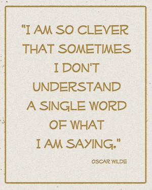 Oscar Wilde's Quotes