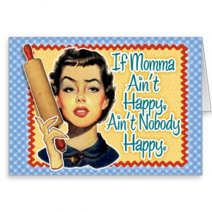 Funny Retro Mothers Day Card