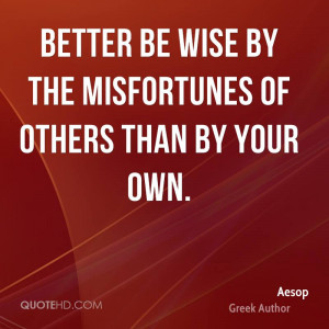 Aesop Wisdom Quotes