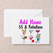 55Th Birthday Greeting Cards