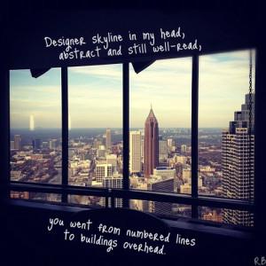 ... image include: designer skyline, Lyrics, nyc, Owl City and skyline