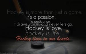 Ice Hockey Quotes