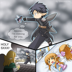 ... art manga anime digital movies tv fanart for sword art online episode
