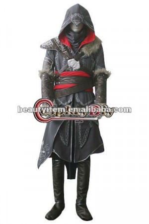 Hot Sale Assassins Creed: Revelations Ezio Auditore da Firenze Cosplay ...