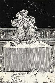 HP Lovecraft by Moebius, what what More