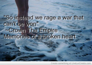 Crown The Empire Song Quote
