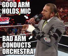 Double arm kimura bury #wrestling #wwe #raw #hhh More