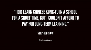 Chinese Kung Fu Quotes