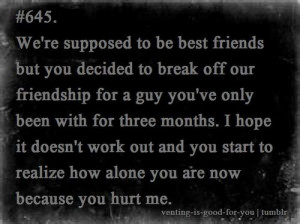 Ex Best Friend Quotes Sad Ex Best Friend Quotes