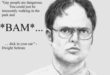 Dwight Schrute Valentine's Day Card | The Modern Lady