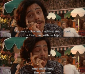 Top 10 picture quotes from movie Fear and Loathing in Las Vegas
