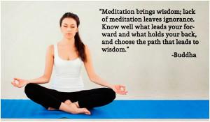 Buddha's saying