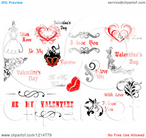 Clipart-Of-Valentine-Greetings-And-Sayings-12-Royalty-Free-Vector ...